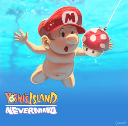 Yoshi Island - Nevermind by GENZOMAN