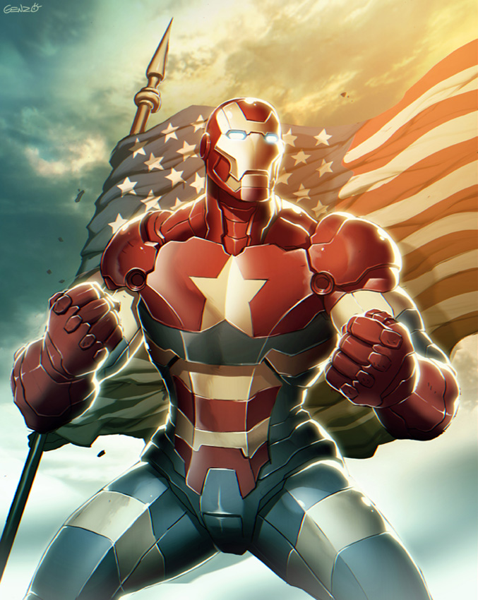 Iron Patriot by GENZOMAN