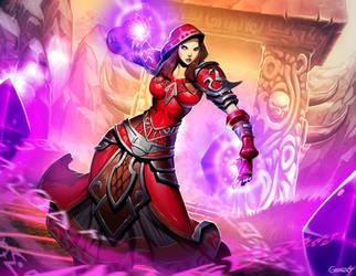 Warcraft - Arcane Enlightenment by GENZOMAN
