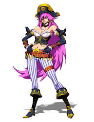 Ultra Street FIghter IV - Poison Alt Outfit