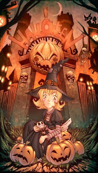 Happy Halloween by GENZOMAN