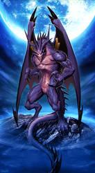 Dragon Bahamut by GENZOMAN