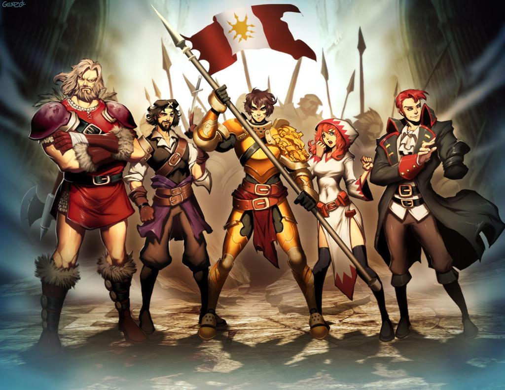 Emblem warriors by GENZOMAN