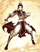 Azula sketch by GENZOMAN