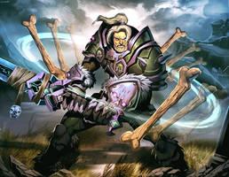 Warcraft - Bone Shield by GENZOMAN