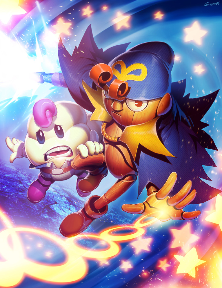 Mario RPG - Geno and Mallow