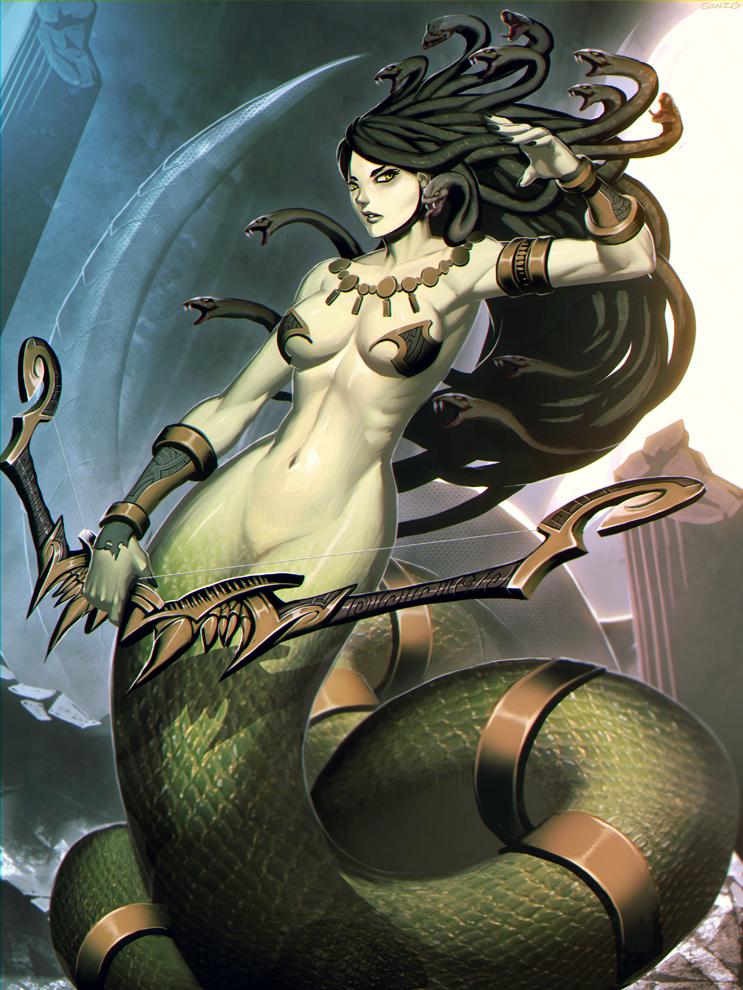 Medusa by GENZOMAN