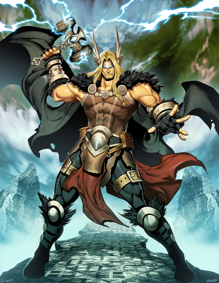Thor by genzoman on deviantart - Thor art wallpaper ...