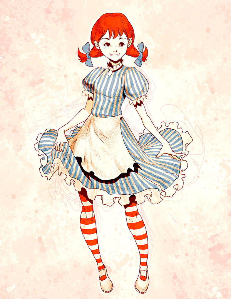 Wendys - Sketch by GENZOMAN