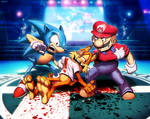 Smash Bros - Bubsy by GENZOMAN