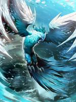 Ice Phoenix by GENZOMAN