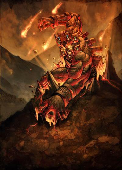 Cabracan's rage by GENZOMAN