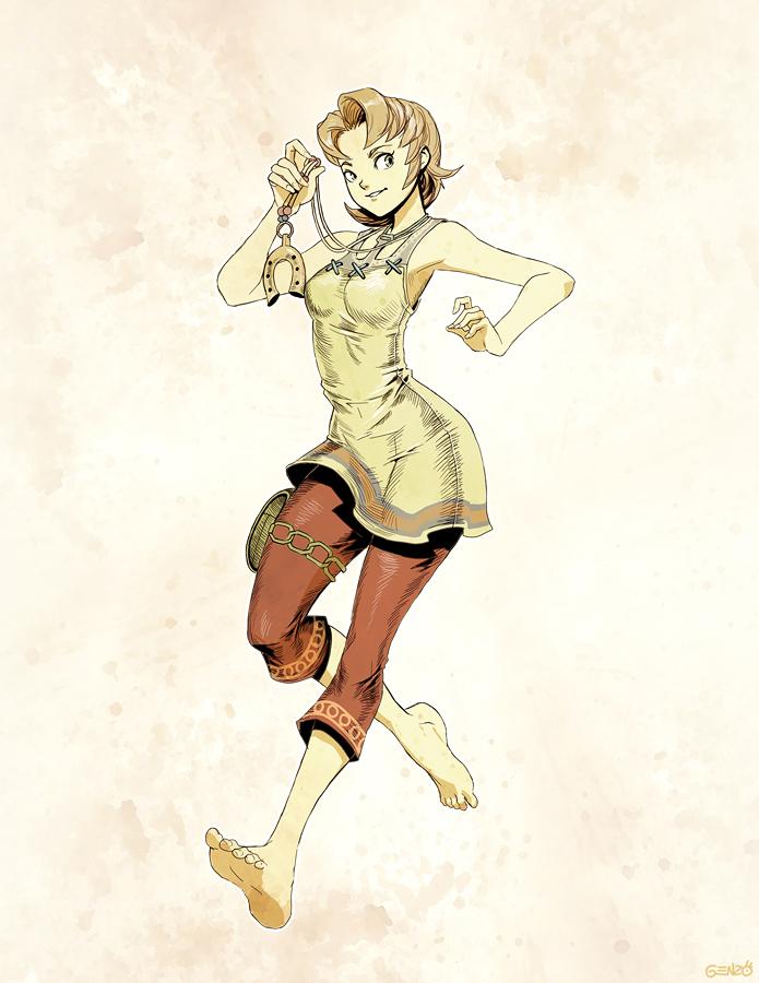 Zelda- Ilia sketch