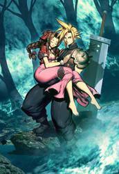 Final Fantasy VII by GENZOMAN