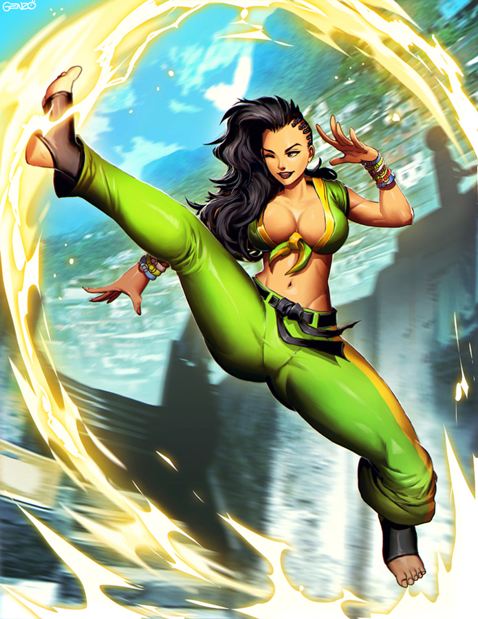 Laura - Street Fighter V by GENZOMAN on DeviantArt