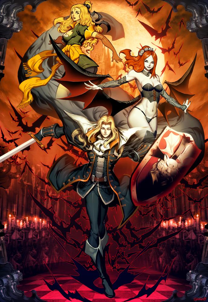 Castlevania - Symphony of the night by GENZOMAN