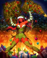 Santa Red She-Hulk 2