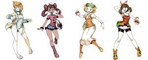 Pokegirls sketchs vol 3