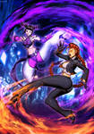 Street Fighter Unlimited 4 cover - Juri VS C.Viper