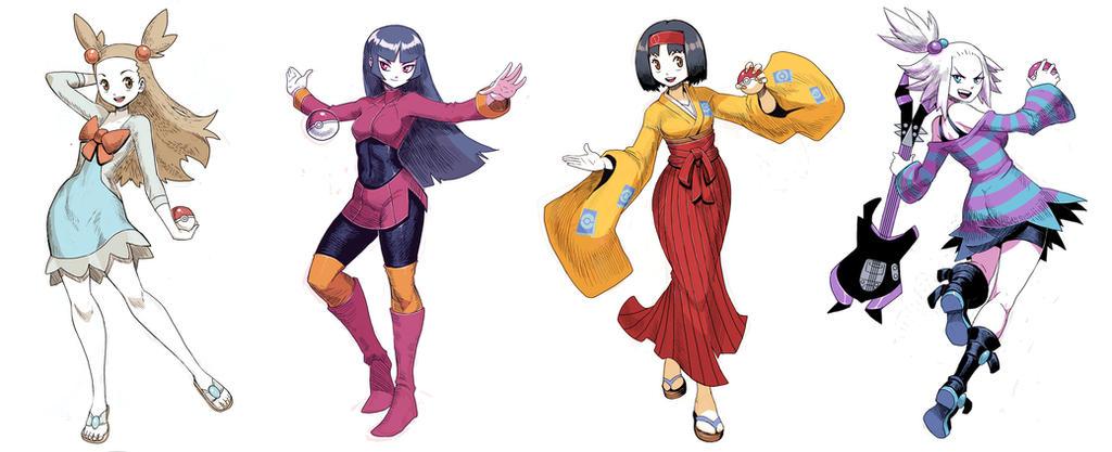 Pokegirls Vol 6 by GENZOMAN