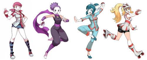 Pokegirls Vol 7 by GENZOMAN