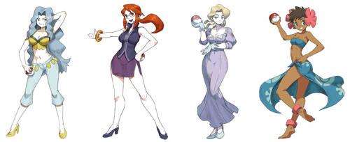 Pokegirls Vol 10 by GENZOMAN