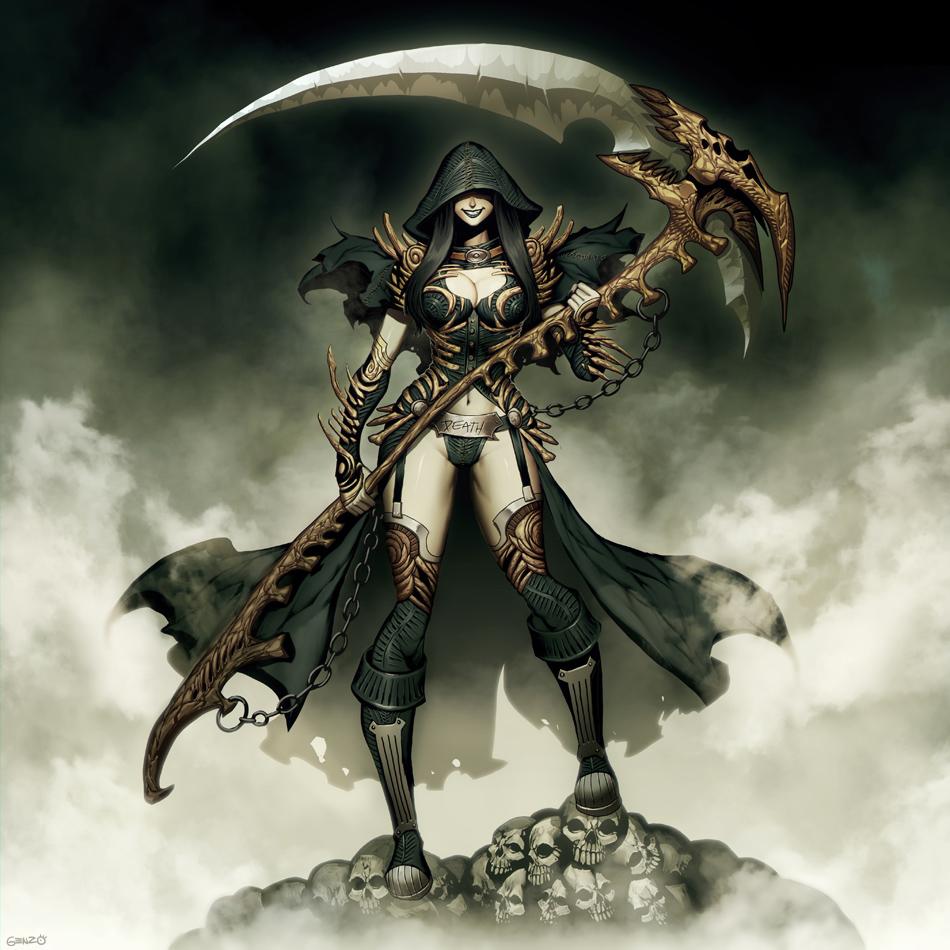 Lady Grim Reaper