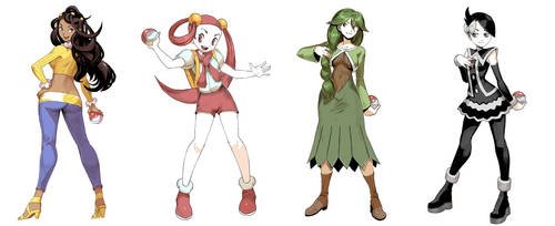 Pokegirls vol 13 by GENZOMAN