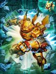 Mecha Pikachu - The Game #11 COVER