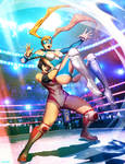 Street FIgther Unlimited 7 cover - R. MIka
