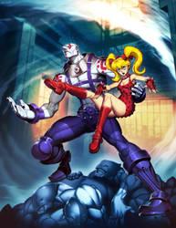 Street Fighter Unlimited 9 - Necro VS Twelve by GENZOMAN