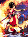 Mai Shiranui by GENZOMAN