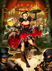 ImagineFX - Wild West Saloon by GENZOMAN