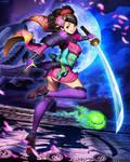 Muramasa The Demon Blade - Momohime by GENZOMAN