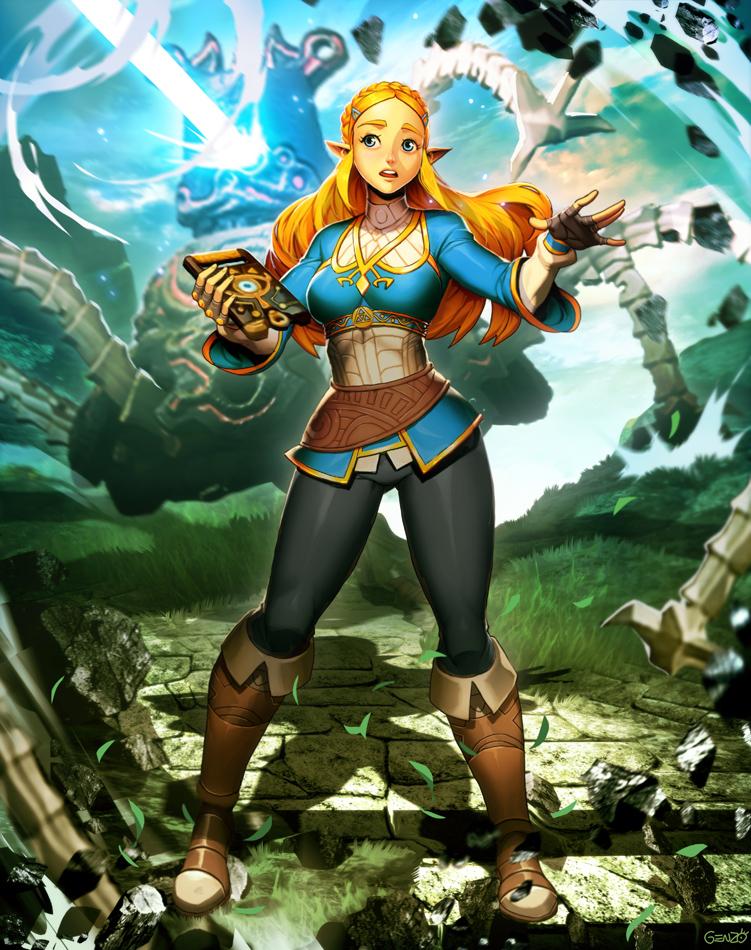 Zelda - Breath of the Wild by GENZOMAN