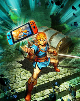 Nintendo SWITCH - Zelda Breath of the Wild