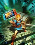Nintendo SWITCH - Zelda Breath of the Wild