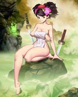 Muramasa The Demon Blade - Momohime Onsen