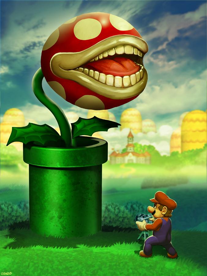 The Biting PEARnha Plant of Mushroom Kingdom