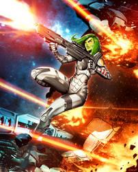 Gamora Plus by GENZOMAN