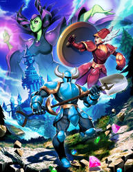 Shovel Knight by GENZOMAN