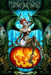 Halloweeen Radegonda - Omen of Sorrow by GENZOMAN