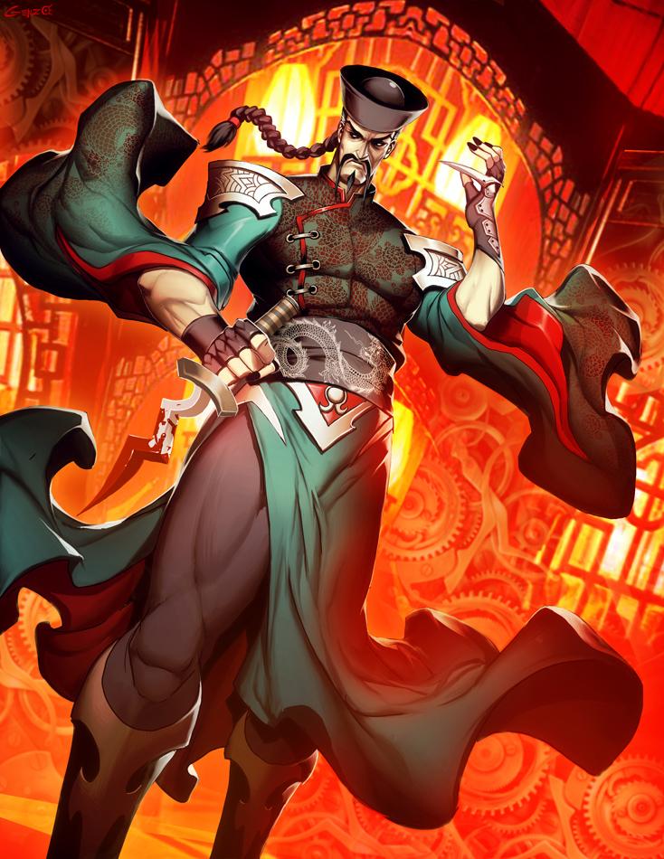 Fu Manchu by GENZOMAN