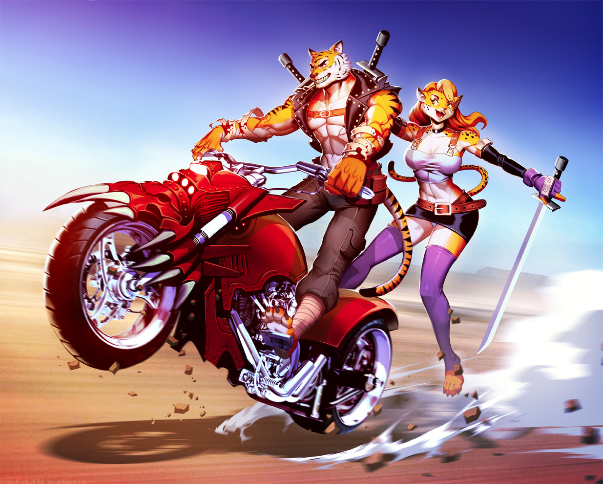 Ride Safe Vest >> #1407774: genzoman - e621