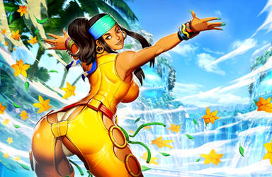 King of Fighters XIV - Zarina by GENZOMAN