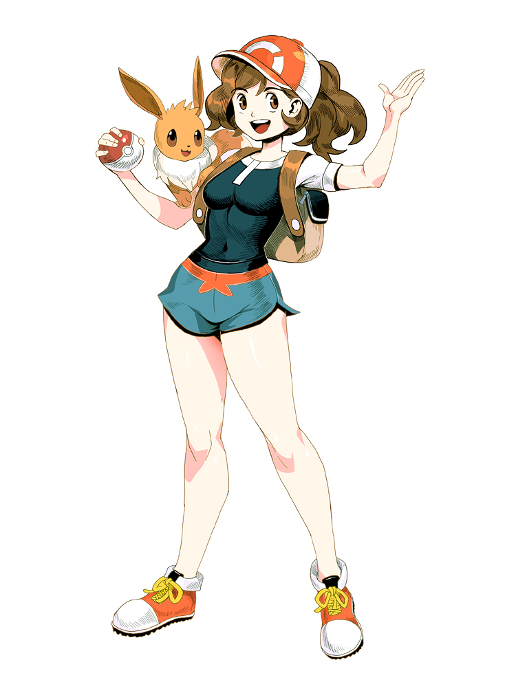 Pokemon Lets Go - Trainer girl by GENZOMAN
