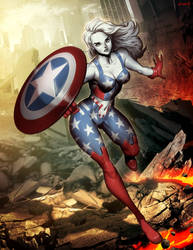Ms America by GENZOMAN