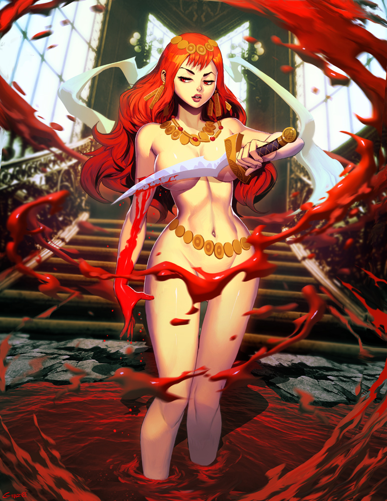 Blood Ritual by GENZOMAN