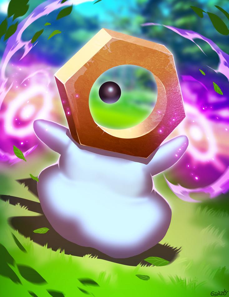 Pokemon GO - Meltan by GENZOMAN
