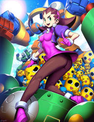Mega Man Legends - Tron Bonne by GENZOMAN